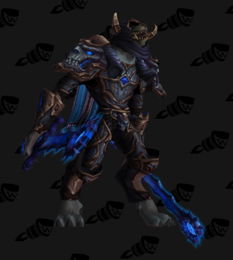 Death Knight PvP Arena Warlords Season 2 Epic Alliance Male Set