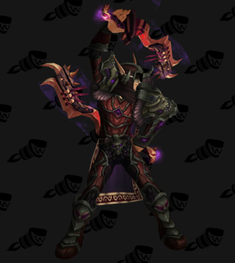 Death Knight PvP Arena Warlords Season 2 Epic Horde Male Set