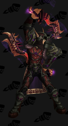 Death Knight PvP Arena Warlords Season 2 Horde Male Set