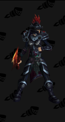 Death Knight PvP Arena Warlords Season 3 Alliance Female Set