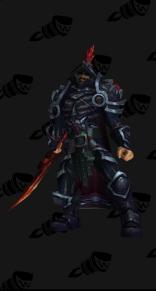 Death Knight PvP Arena Warlords Season 3 Alliance Male Set