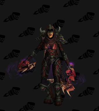 Death Knight PvE Arena Warlords Season 3 Epic Alliance Female Set