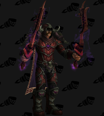 Death Knight PvP Arena Warlords Season 3 Epic Alliance Male Set