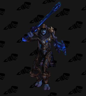 Death Knight PvE Arena Warlords Season 3 Epic Horde Female Set