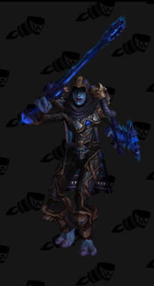 Death Knight PvP Arena Warlords Season 3 Horde Female Set