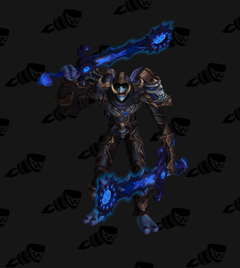 Death Knight PvP Arena Warlords Season 3 Epic Horde Male Set