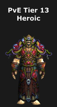Druid PvE Tier 13 Heroic Set