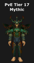 Druid PvE Tier 17 Mythic Set