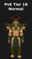 Druid PvE Tier 18 Normal Set