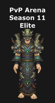 Druid PvP Arena Season 11 Elite Set