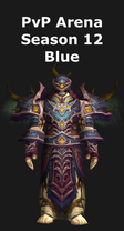 Druid PvP Arena Season 12 Blue Set
