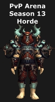 Druid PvP Arena Season 13 Horde Set