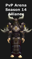 Druid PvP Arena Season 14 Alliance Set