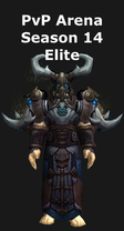 Druid PvP Arena Season 14 Elite Set