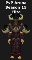 Druid PvP Arena Season 15 Elite Set