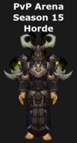 Druid PvP Arena Season 15 Horde Set