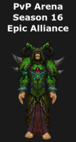 Druid PvP Arena Season 16 Alliance Set