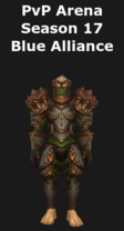 Druid PvP Arena Season 17 Alliance Set