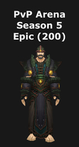Druid PvP Arena Season 5 Epic Set (200)