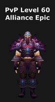 Druid PvP Level 60 Alliance Epic Set