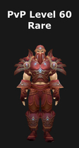 Druid PvP Level 60 Alliance Rare Set