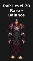 Druid PvP Level 70 Rare Set - Balance