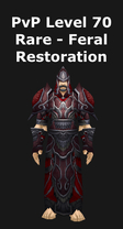 Druid PvP Level 70 Rare Set - Feral/Restoration