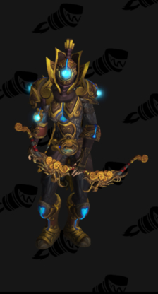 Hunter PvE Tier 16 Mythic Female Set