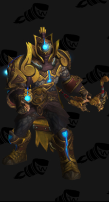 Hunter PvE Tier 16 Mythic Male Set