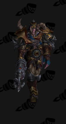 Hunter PvE Tier 17 Heroic Male Set