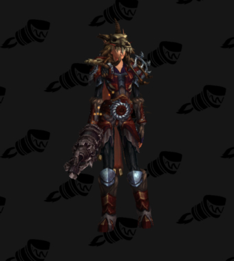 Hunter PvE Tier 17 Mythic Set
