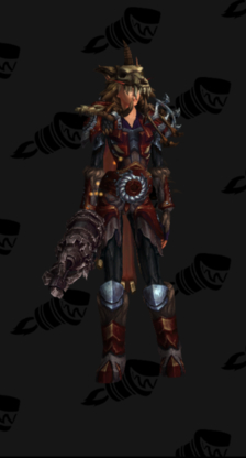 Hunter PvE Tier 17 Mythic Male Set