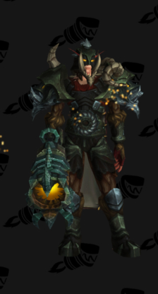 Hunter PvE Tier 17 Normal Male Set