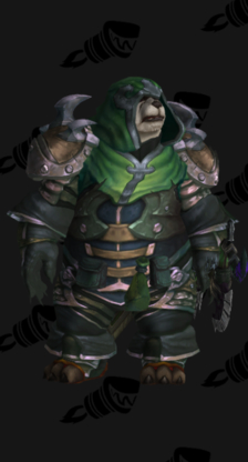 Hunter PvE Tier 18 Heroic Male Set
