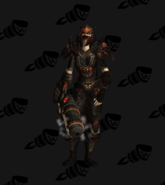 Hunter Transmog Valorous Cryptstalker Battlegear PvE Tier 7.5 Female Set