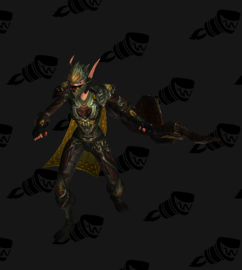 Hunter Transmog Heroes' Cryptstalker Battlegear PvE Tier 7 Female Set