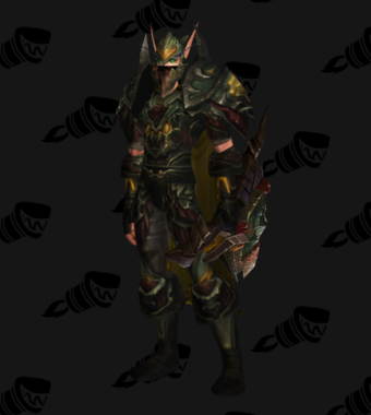 Hunter Transmog Heroes' Cryptstalker Battlegear PvE Tier 7 Male Set