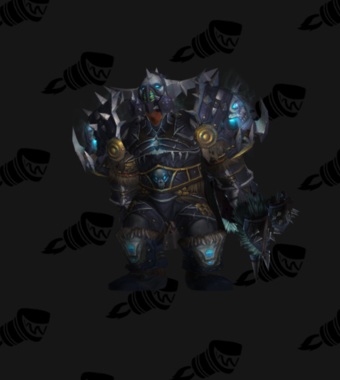 Hunter Transmog Conqueror's Scourgestalker Battlegear PvE Tier 8.5 Male Set