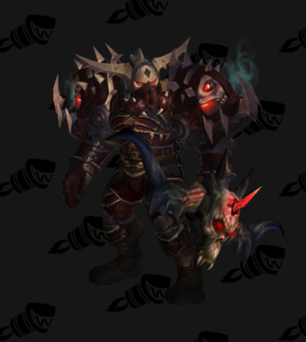 Hunter Transmog Valorous Scourgestalker Battlegear PvE Tier 8 Male Set