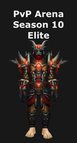 Hunter PvP Arena Season 10 Elite Set