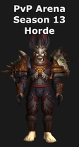 Hunter PvP Arena Season 13 Horde Set