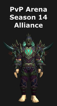 Hunter PvP Arena Season 14 Alliance Set