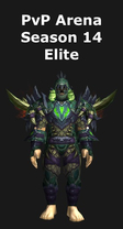 Hunter PvP Arena Season 14 Elite Set