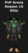Hunter PvP Arena Season 15 Elite Set