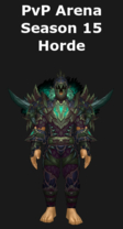 Hunter PvP Arena Season 15 Horde Set