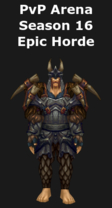 Hunter PvP Arena Season 16 Epic Horde Set