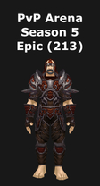 Hunter PvP Arena Season 5 Epic Set (213)