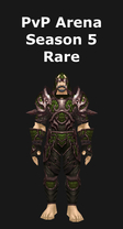 Hunter PvP Arena Season 5 Rare Set