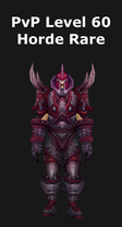 Hunter PvP Level 60 Horde Rare Set