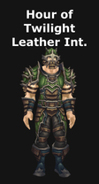 Hour of Twilight Leather Intellect Set